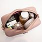 Жіноча міні-рожева сумочка код 3-428, фото 7