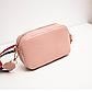 Жіноча міні-рожева сумочка код 3-428, фото 4