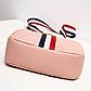 Жіноча міні-рожева сумочка код 3-428, фото 5