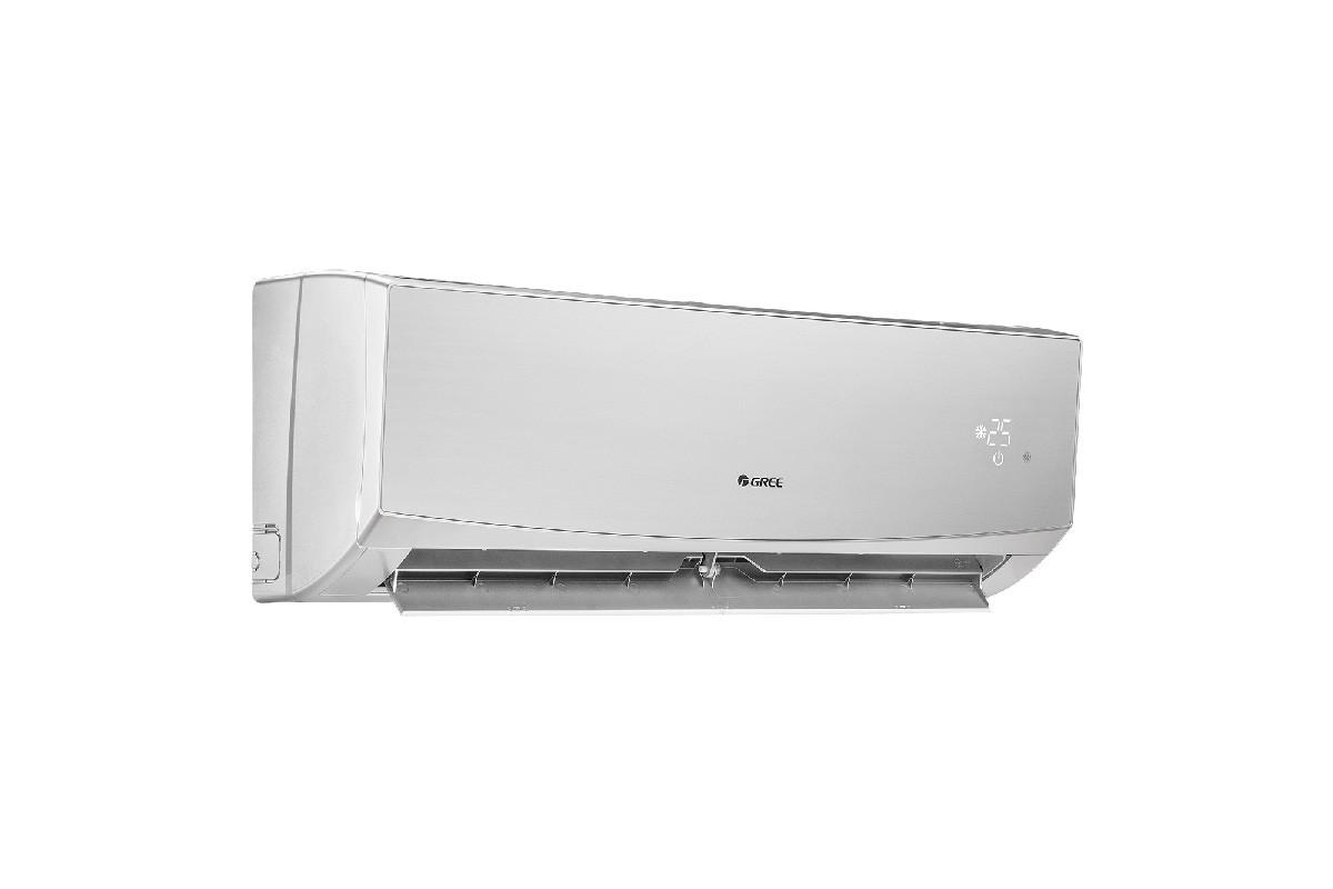 Кондиционер инверторный Gree GWH12QC-K6DND2D R-32 LOMO DC inverter (Cold Plazma) +Wi-fi (silver)