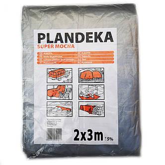 Тент от дождя солнца и снега 2х3 м 180 г/м2 Польский ламинированный с кольцами Plandeka, фото 2