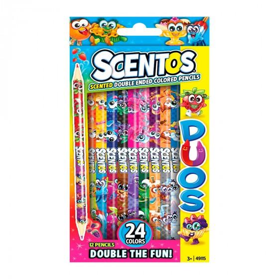 Набор ароматных карандашей - Двойное веселье Scentos 49115