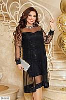 Платье женское батал   Нинэль