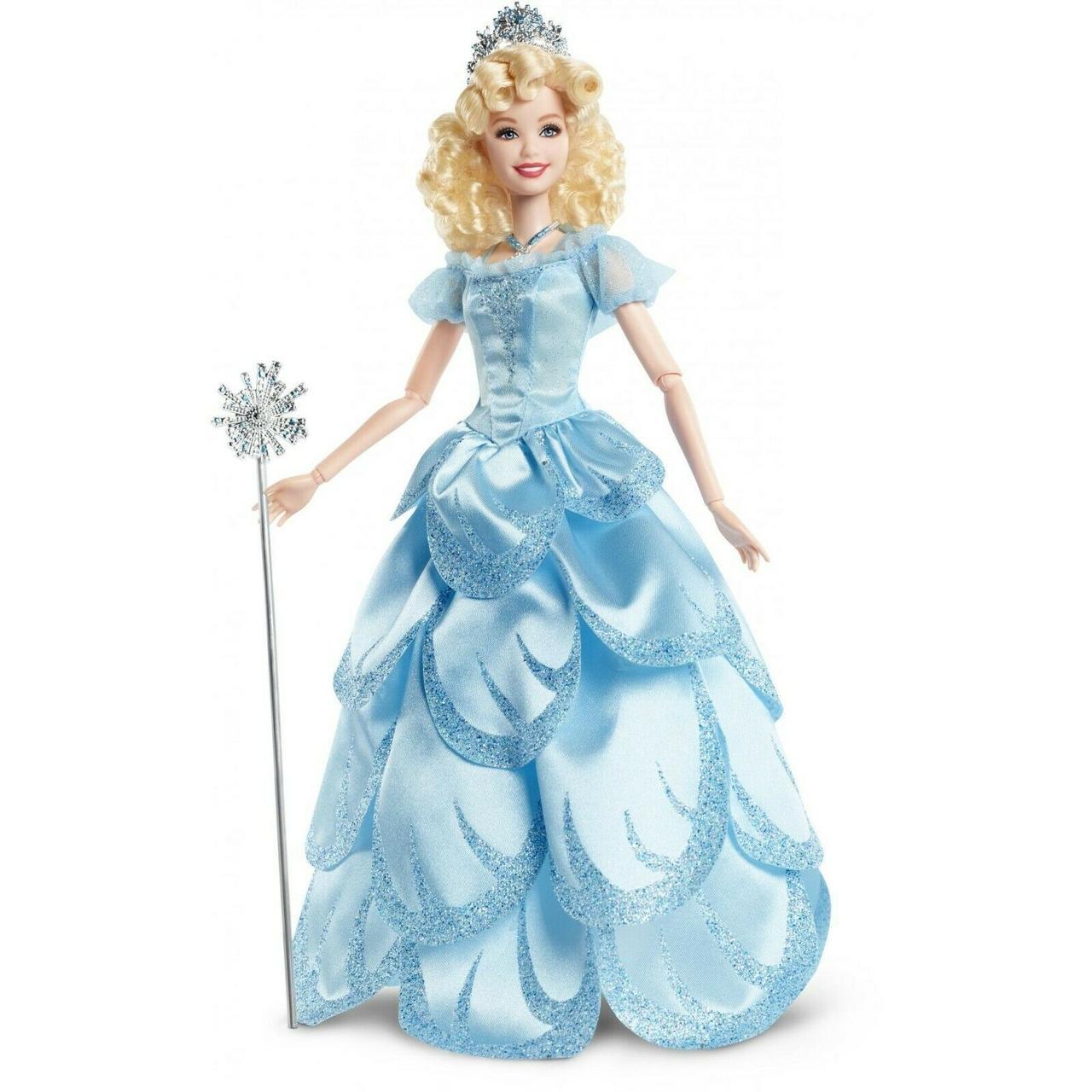Barbie Коллекционная шарнирная кукла Барби Глинди (Barbie FJH61 Wicked Glinda Doll)