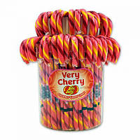 Трости Jelly Belly Candy Canes - 80 Ct Jar Very Cherry, фото 1