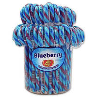 Трости Jelly Belly Candy Canes - 80 Ct Jar Blueberry, фото 1