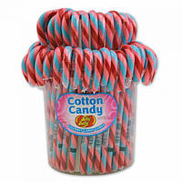 Трости Jelly Belly Candy Canes - 80 Ct Jar Cotton Candy, фото 1