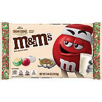 M&m's Holiday White Chocolate Sugar Cookie Crisp 210.9 g