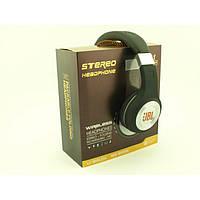 Наушники беспроводные Bluetooth для телефона с MP3 плеером JBL 471 BT Радио с LED Дисплеем чёрные