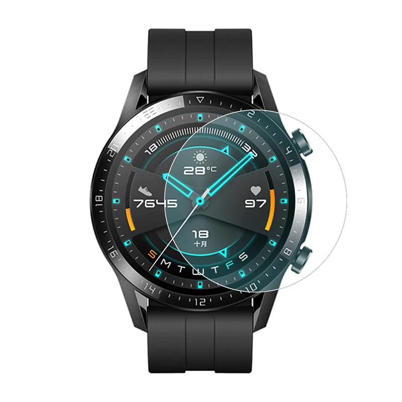 Huawei Watch GT, Active Загартоване скло для годинників, діаметр - 35,5 мм.