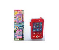 Телефон 11см, музыка, звук, 3D картинка, 3 вида (FR,DP,AV), на листе 11,5-18-2см (8105)