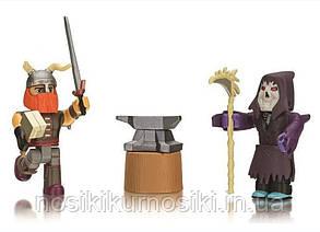Фигурки героев компьютерной игры Roblox1865-4 Роблокс - 2 героя, аксессуары