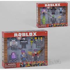 Фигурки героев компьютерной игры RobloxJL19071 Роблокс - 6 героев, аксессуары, 2 вида
