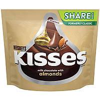 Конфеты HERSHEY'S KISSES Chocolate Candy with Almonds, фото 1