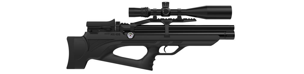 Пневматична гвинтівка PCP Aselkon MX10-S Black, фото 2