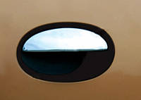 Накладки на ручки (4 шт., нерж.) Opel Corsa C 2000↗ гг. / Накладки на ручки Опель Корса