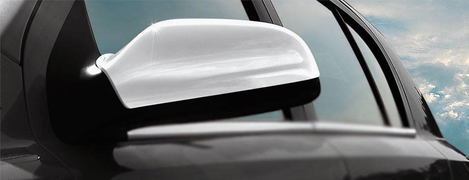 Omsa OPEL ASTRA H Накладки на зеркала хром (ABS) / Накладки на зеркала Опель Астра
