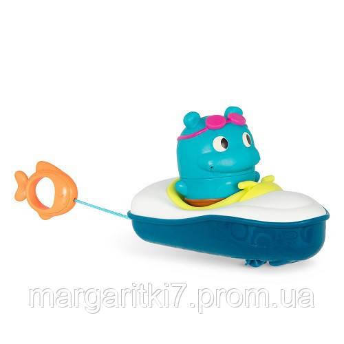 Игрушка для ванны - БЕГЕМОТИК ПЛЮХ