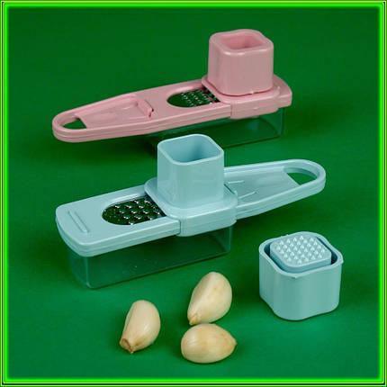 Тёрка c контейнером для ореха/чеснока L15см, фото 2