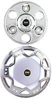 Колпаки из нержавейки (2 катк.) Mercedes Sprinter 1995-2006 гг. / Хром колпаки Мерседес Бенц Спринтер
