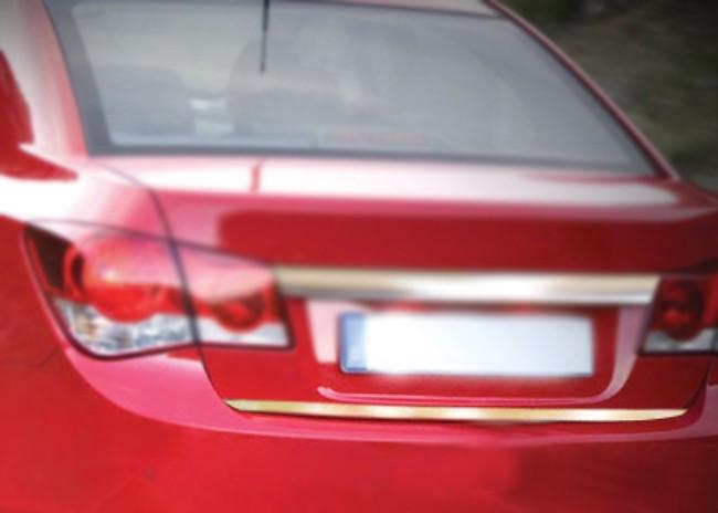 CHEVROLET CRUZE Sedan Накладка на кромку багажника OmsaLine / Накладки на двери Шевроле Крузе