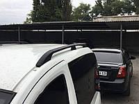 Fiat Fiorino Рейлинги Черные с пластиковыми ножками / Рейлинги Фиат Кубо, фото 1