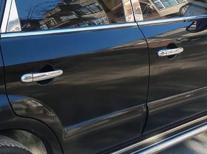 Накладки на ручки (4 шт, нерж) Hyundai Tucson JM 2004↗ гг. / Накладки на ручки Хюндай Туксон