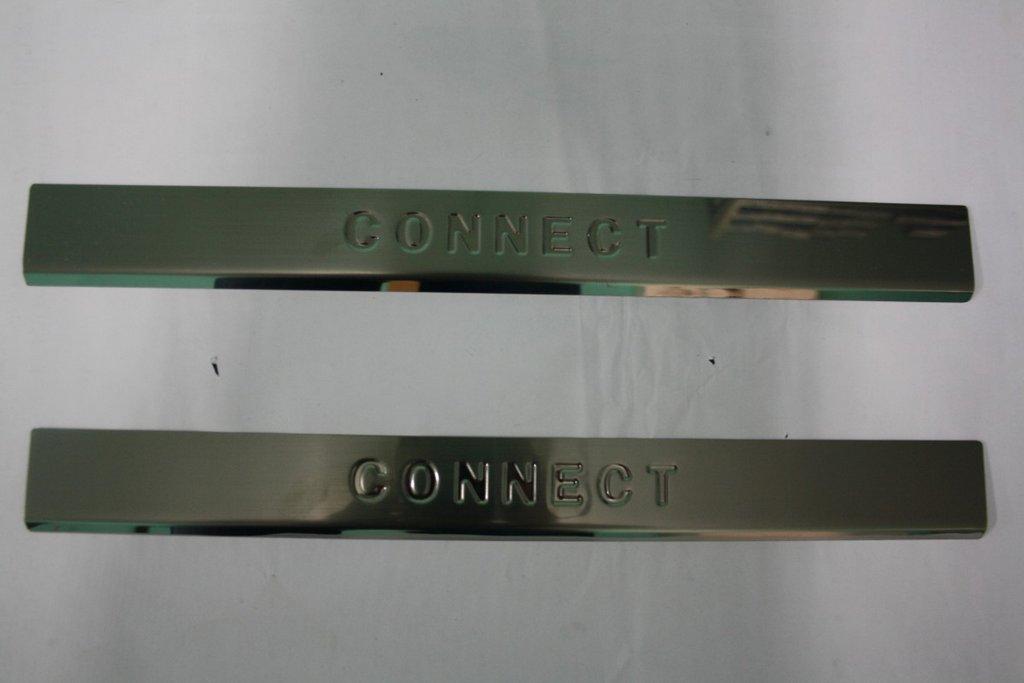 Ford Connect 2006-2009 Накладки на пороги Carmos / Накладки на пороги Форд Транзит Коннект