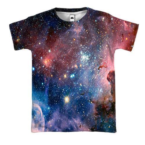 3D футболка Космос