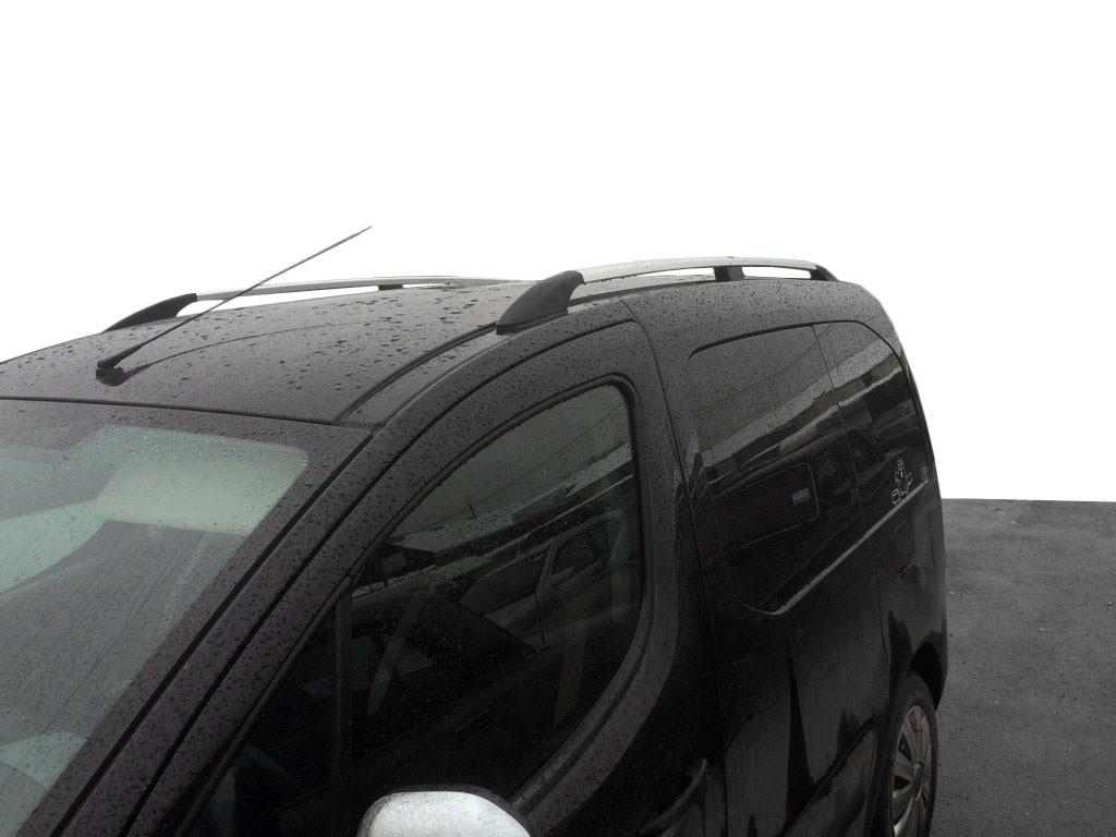 Хром рейлинги на Citroen Berlingo 2008↗ (пластиковое крепление) / Рейлинги Ситроен Берлинго