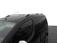Хром рейлинги на Citroen Berlingo 2008↗ (пластиковое крепление) / Рейлинги Ситроен Берлинго, фото 1