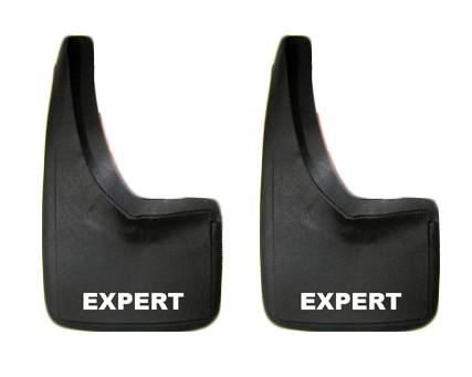 Брызговики (2 шт) Peugeot Expert 2007-2017 гг. / Брызговики модельные Пежо Експерт