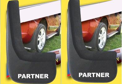 Брызговики Турция (2 шт) Peugeot Partner 1996-2008 гг. / Брызговики модельные Пежо Партнер