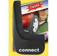 Задние брызговики (2 шт) Ford Connect 2002-2006 гг. / Брызговики модельные Форд Транзит Коннект
