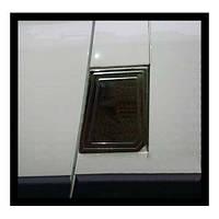 Накладка на люк бака (нерж.) Fiat Ducato 2006↗ и 2014↗ гг. / Накладки на кузов Фиат Дукато