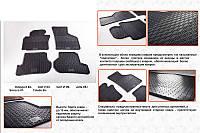 Резиновые коврики в салон (4 шт, Stingray Premium) Audi A3 2004-2012 гг. / Резиновые коврики Ауди A3