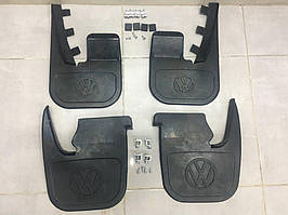 Комплект брызговиков (4 шт, под оригинал) Volkswagen T4 Caravelle/Multivan / Брызговики оригинальные