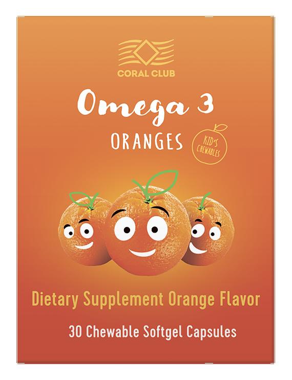Омега 3 Апельсина 30капс
