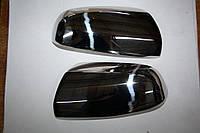 Накладки на зеркала 2005-2008 (2 шт, нерж.) Opel Zafira B 2006-2011 гг. / Накладки на зеркала Опель Зафира