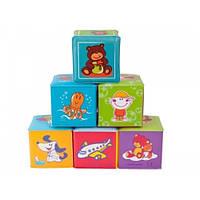 Игрушка Canpol Babies Мягкие кубики 6 штук (2/817)