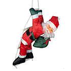 Дед мороз, Санта Клаус на лестнице, 50см., фото 5