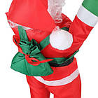 Дед мороз, Санта Клаус на лестнице, 50см., фото 10