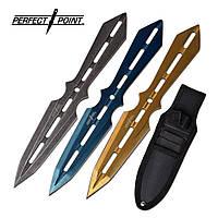 Набор трех метательных ножей Perfect Point