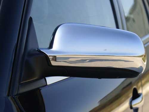 VW Passat B5 (1996-2003) Накладки на зеркала (нерж.) / Накладки на зеркала Фольксваген Пассат Б5