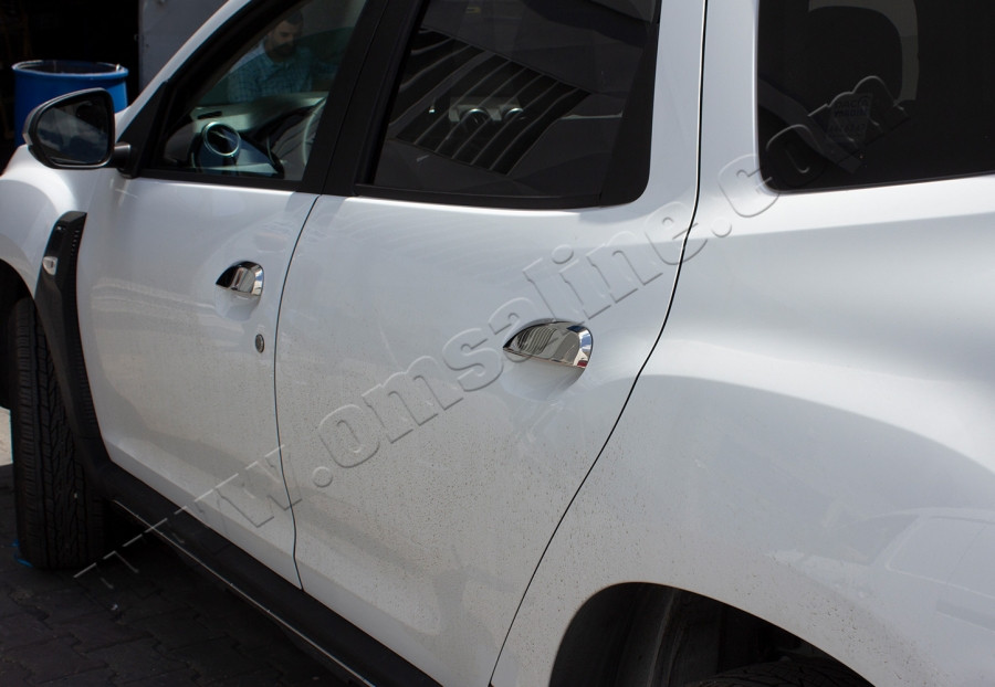 Dacia Duster 2018↗ Хром на ручки Carmos / Накладки на ручки Дачиа Дастер