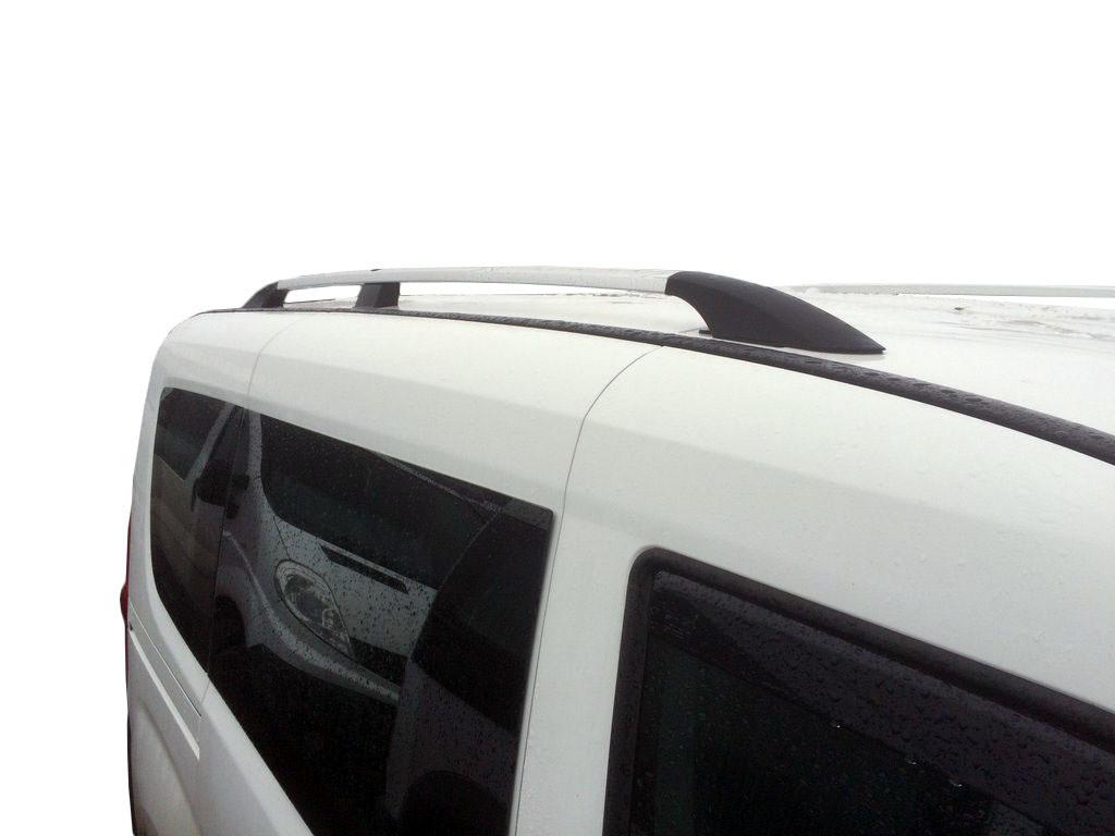 Opel Combo 2012↗ Рейлинги Хром (пласт. крепл) короткая база / Рейлинги Опель Комбо