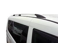 Opel Combo 2012↗ Рейлинги Хром (пласт. крепл) короткая база / Рейлинги Опель Комбо, фото 1