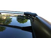 Renault Duster 2008-2014 Перемычки на рейлинги под ключ Черный / Багажник Рено Дастер, фото 1