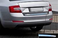 Кромка багажника (нерж) Skoda Octavia A7 2013↗ гг. / Накладки на двери Шкода Октавия