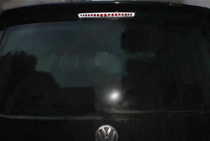 Накладки на верхний стоп (нерж) Volkswagen T5 рестайлинг 2010-2015 гг. / Накладки на двери Фольксваген